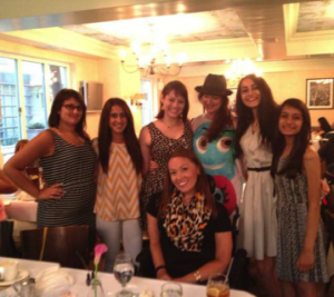 "Summer of Service 2014 Interns & Designer Lauren Towle, with Maria Synder, one of the world's first ""supermodels"" and now an entrepreneur and humanitarian"